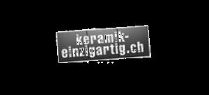 keramik einzigartig Logo