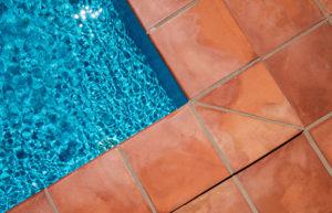 Earthenware tiles