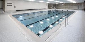 Indoor pool Kleinhüningen - Baudepartement Basel-Stadt